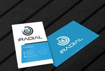 Design some Business Cards for iRadial için Graphic Design16 No.lu Yarışma Girdisi