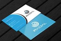 Design some Business Cards for iRadial için Graphic Design19 No.lu Yarışma Girdisi
