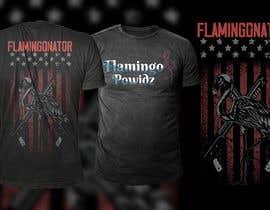 #145 for Flamingo T-shirts af Abukawshik