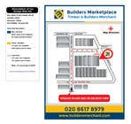 Graphic Design Konkurrenceindlæg #32 for Design a Direction Poster Map for Business