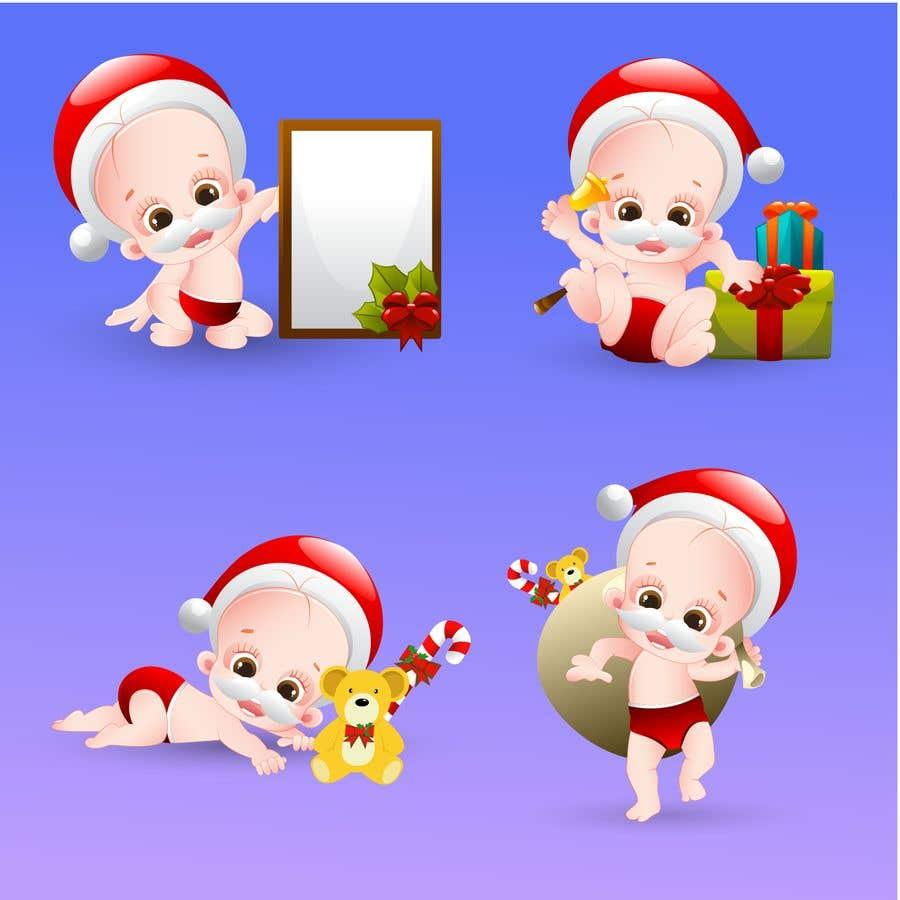 Bài tham dự cuộc thi #                                        10                                      cho                                         we need a cartoon form of baby Santa