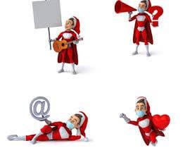 #6 cho we need a cartoon form of baby Santa bởi Ersharad