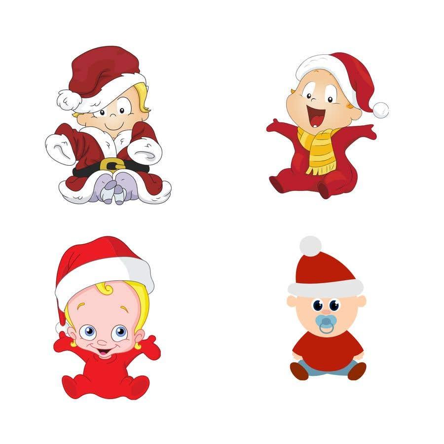 Bài tham dự cuộc thi #                                        1                                      cho                                         we need a cartoon form of baby Santa
