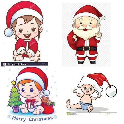 Bài tham dự cuộc thi #                                        2                                      cho                                         we need a cartoon form of baby Santa