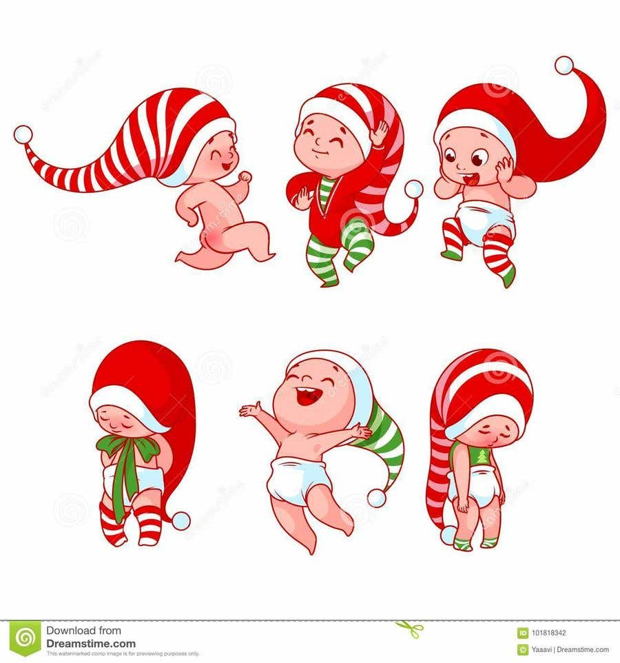 Bài tham dự cuộc thi #                                        7                                      cho                                         we need a cartoon form of baby Santa
