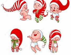 #7 cho we need a cartoon form of baby Santa bởi Najmur