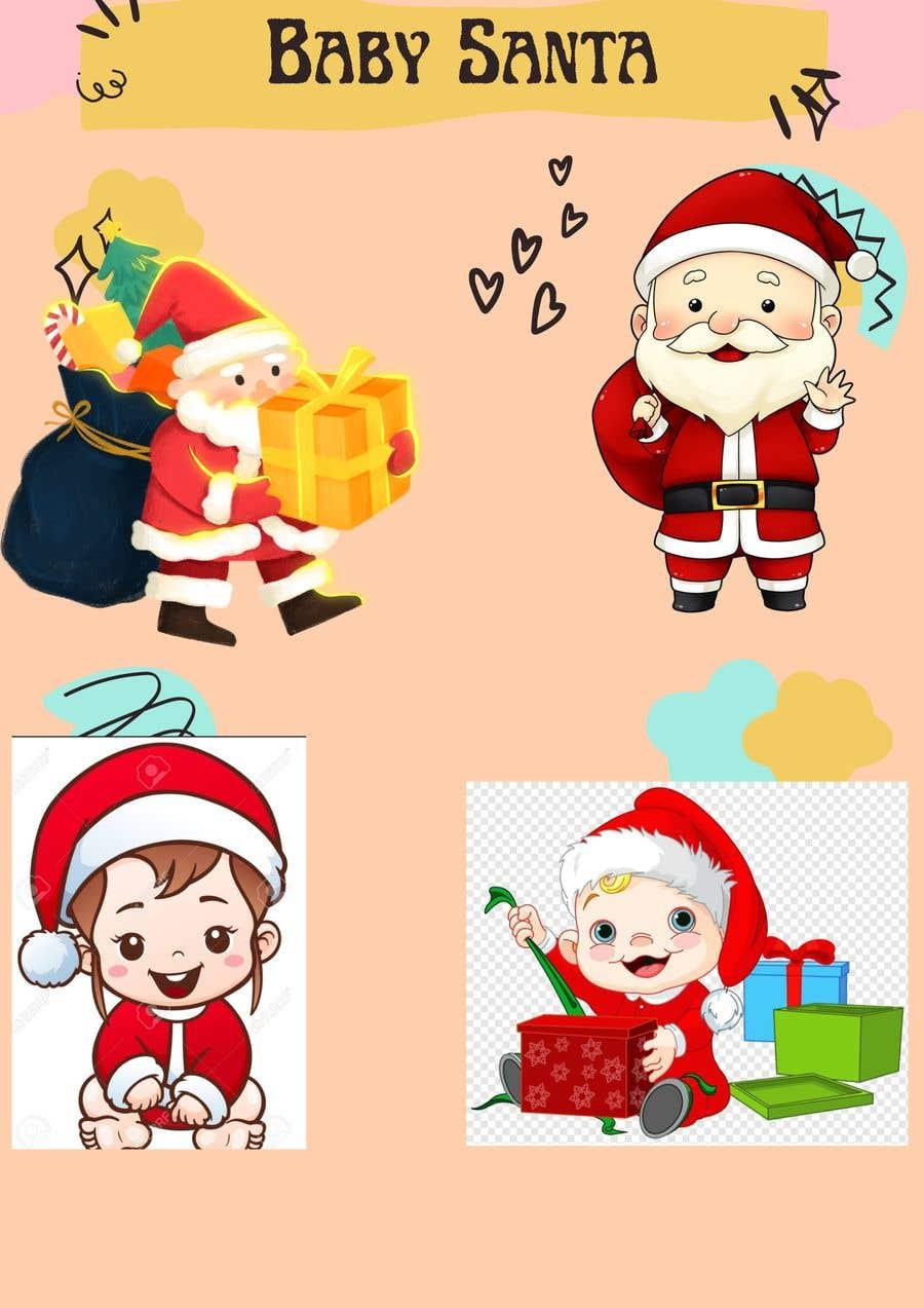 Bài tham dự cuộc thi #                                        12                                      cho                                         we need a cartoon form of baby Santa