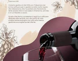 nº 23 pour Volantino A4 + motto per programma per vinicoltori par leonorfczpires19