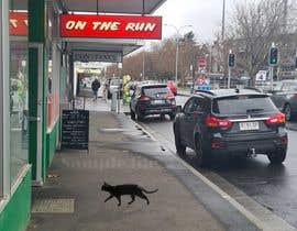 Nro 72 kilpailuun Photoshop Black Cat into an image. käyttäjältä MojtabaAzizi