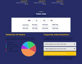 #16 for Website for our Crypto Token (train rails) by Creativeboione