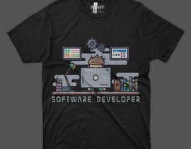 #111 for Create an ORIGINAL funny t shirt design for programmers af Dinislam11