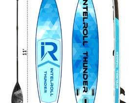 Nro 10 kilpailuun Paddleboard Design käyttäjältä fazel5333