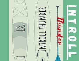 Nro 16 kilpailuun Paddleboard Design käyttäjältä sondosabdelrahmn