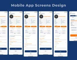 Nro 5 kilpailuun Design 2 pages for mobile app käyttäjältä amaanshahana007