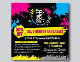 Nro 122 kilpailuun Social Media Sticker Discount Flyer -Gene käyttäjältä designconcept86