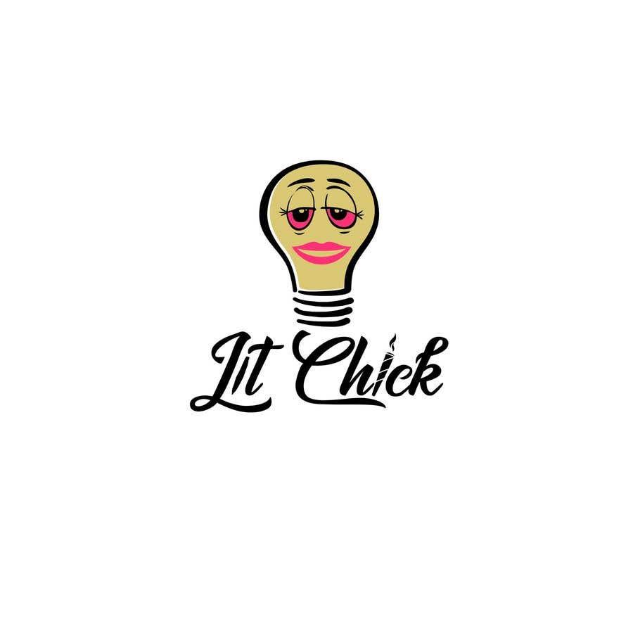 """Kilpailutyö #                                        30                                      kilpailussa                                         """"Lit Chick"""""""