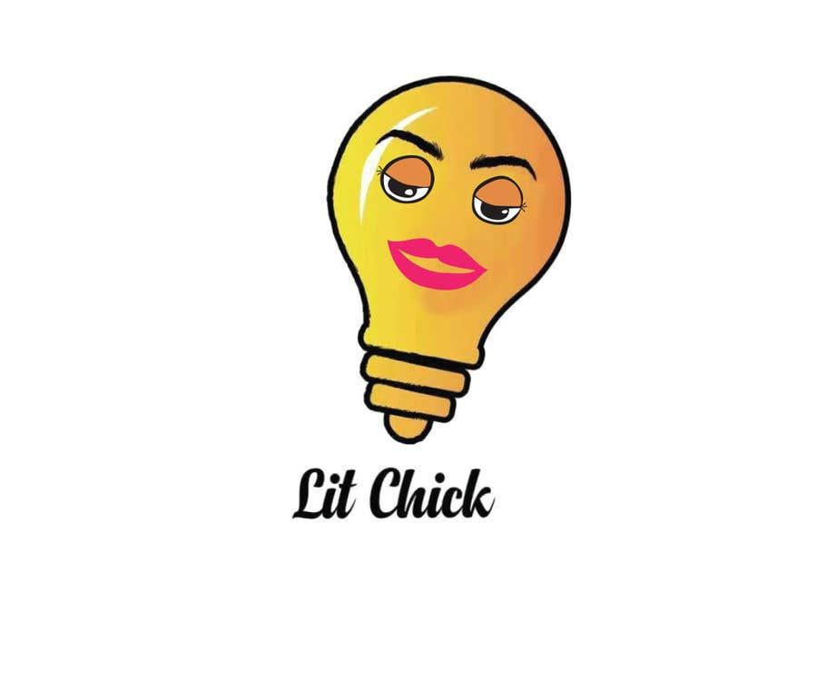 """Kilpailutyö #                                        45                                      kilpailussa                                         """"Lit Chick"""""""