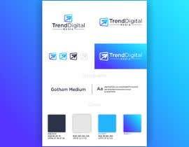 Nro 364 kilpailuun Logo Design Trend Digital Media käyttäjältä dabichevy