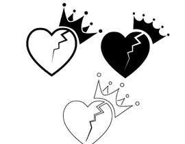 """#198 for """"Prince of Heartz"""" Logo Concept by ioanna9"""