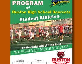 #54 for Create a Football program ad for our business by bestdesign9