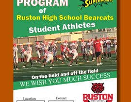 #56 for Create a Football program ad for our business by bestdesign9
