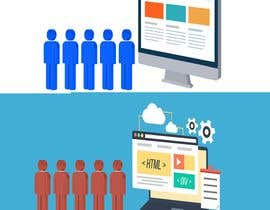 """desenhos tarafından """"caroon like"""" business art for website için no 6"""