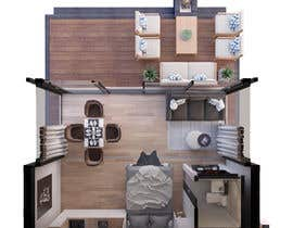 #45 for Design a Studio Flat made out of a Shipping Container af OmarMussad