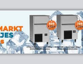 #60 para Website Banner (Ristormarkt Ice Cube Machines) por begummohima5456