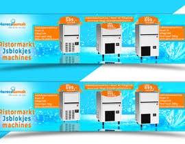 #63 para Website Banner (Ristormarkt Ice Cube Machines) por RajuKhan564