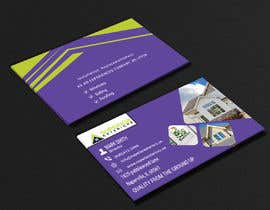 #636 for business cards for roofing company by sakilagraphics
