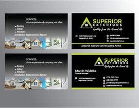 #640 for business cards for roofing company by SarmilaPalit