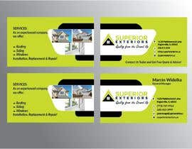 #641 for business cards for roofing company by SarmilaPalit