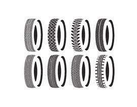 nº 41 pour Tire pattern design par sharminnaharm
