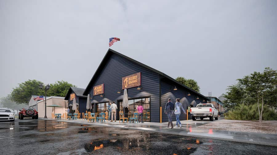 Contest Entry #                                        24                                      for                                         Artist rendering of new Commercial building