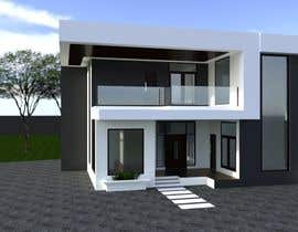 #33 for Design a minimalistic home exterior design as per the attached floor plan. af hadiidarch