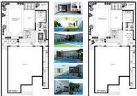 3D Rendering Entri Peraduan #14 for Building a covered terrace with room for office & bathroom + laundry & storage area