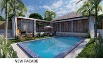 3D Rendering Entri Peraduan #11 for Building a covered terrace with room for office & bathroom + laundry & storage area
