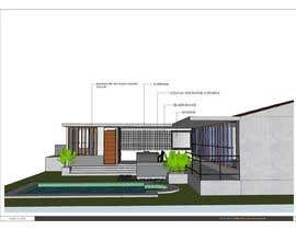 Nro 12 kilpailuun Building a covered terrace with room for office & bathroom + laundry & storage area käyttäjältä Maria3d
