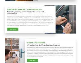 Nro 48 kilpailuun Mockup Design a unique and fresh looking website for locksmith käyttäjältä adthedesigner