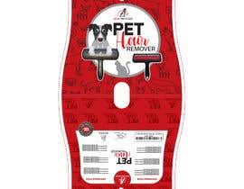 Nro 22 kilpailuun Pet Hair Remover packaging käyttäjältä sobujfreelancer