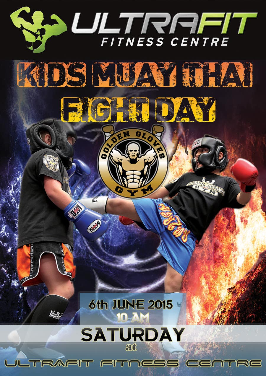 Contest Entry #                                        7                                      for                                         Design a Flyer for KIDS FIGHT DAY