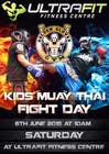 Graphic Design Contest Entry #21 for Design a Flyer for KIDS FIGHT DAY