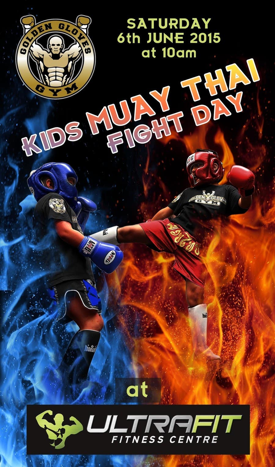 Contest Entry #                                        13                                      for                                         Design a Flyer for KIDS FIGHT DAY