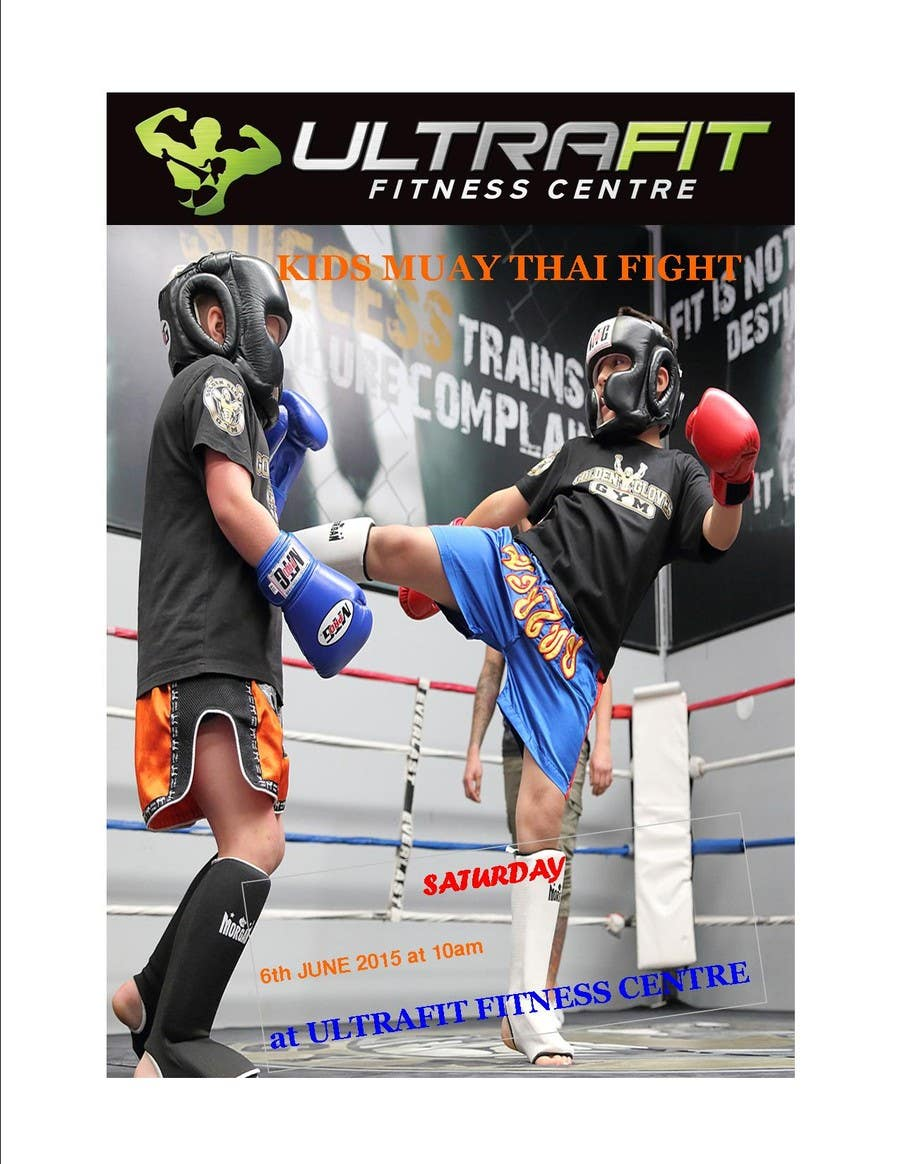 Contest Entry #                                        23                                      for                                         Design a Flyer for KIDS FIGHT DAY