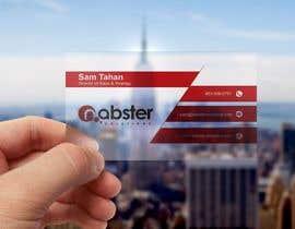 Nro 51 kilpailuun Design transparent business card käyttäjältä abdulmonayem85