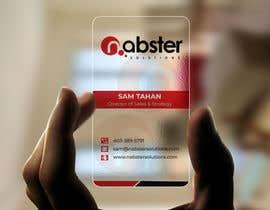 Nro 79 kilpailuun Design transparent business card käyttäjältä Sadikul2001