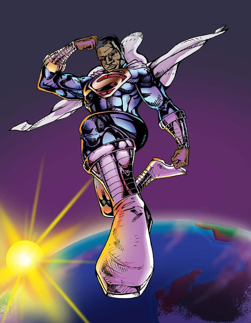 Inscrição nº                                         17                                      do Concurso para                                         Recreate 3 Superheroes - High Quality Photoshop or Illustrator Art