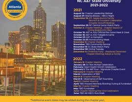 nº 9 pour Design a calendar flyer par Annydesign