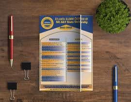 nº 88 pour Design a calendar flyer par shaalam477808