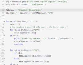 Nro 8 kilpailuun Project Title: Web scraping using Python. käyttäjältä RaiShahnawaz95